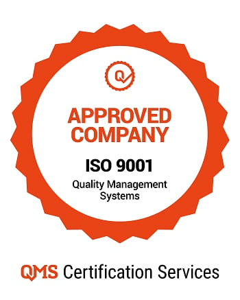 ISO 9001 QMS approved company